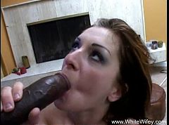 Brunette MILF Wants Interracial BBC Anal Sex
