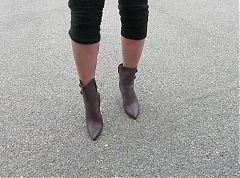 modeling my Via spiga Boots for you